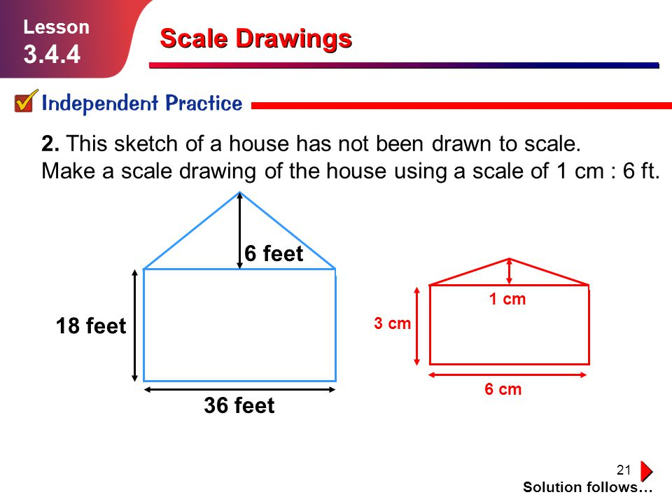 960x720 Scale Drawings Lesson Ppt Video Online Download