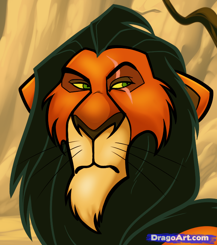 Scar Lion King Drawing At Getdrawings Com Free For Personal Use