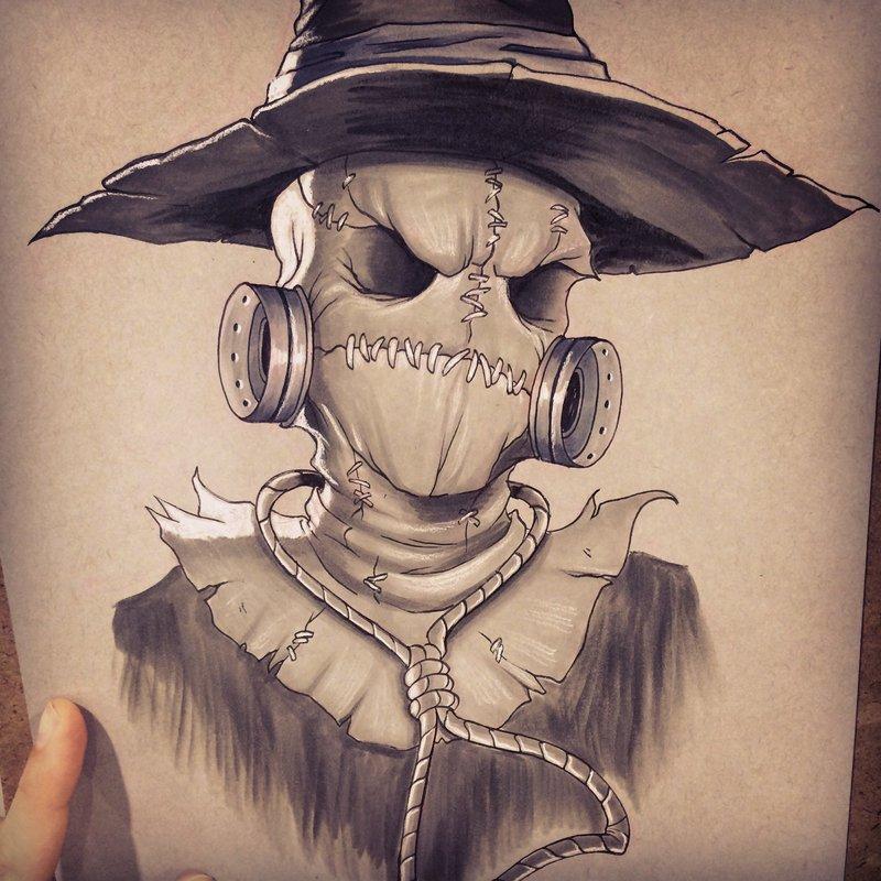800x800 Scarecrow By Chrissie Zullo On Artist Chrissie Zullo
