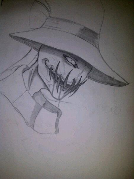 453x604 Scary The Scarecrow By Ink Z
