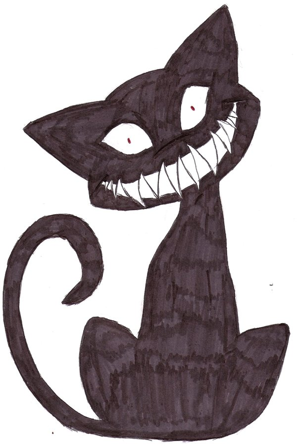 600x900 The Creepy Cat Stare By Darkpanther419