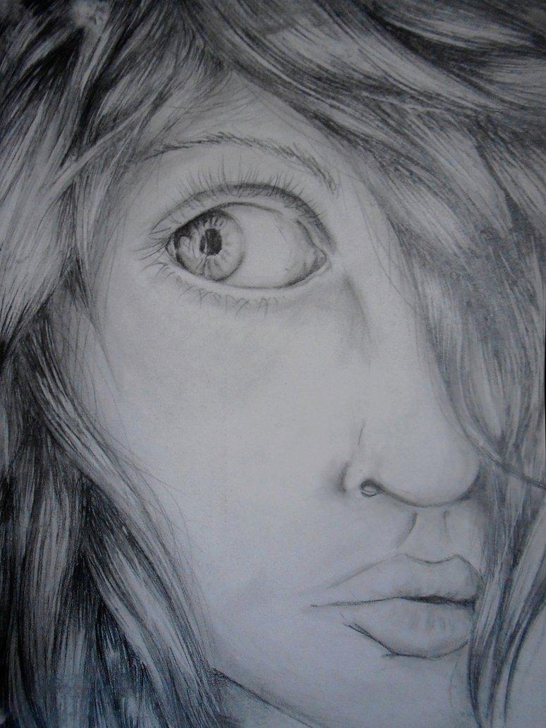 774x1032 Scared Girl By Lulurojo