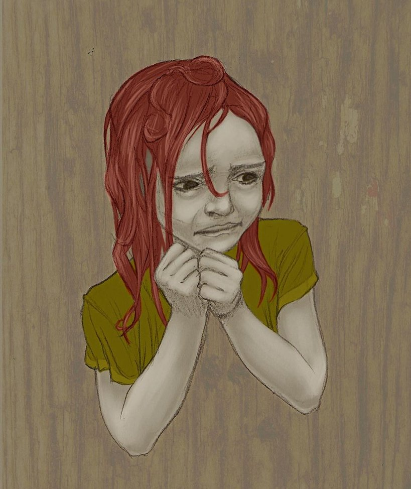 819x974 Scared Girl By Chocsox