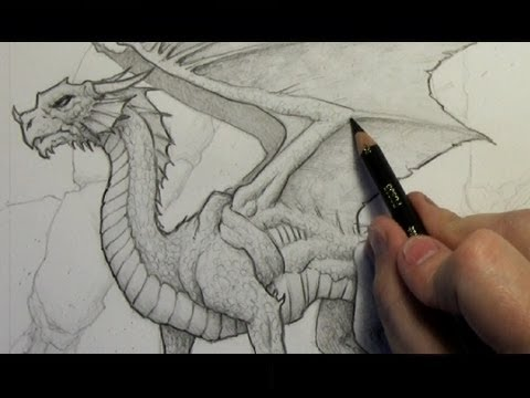 480x360 How To Draw A Dragon Step By Step (Narrated Version)
