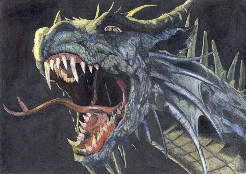 800x566 Scary Dragon By Veve 350z