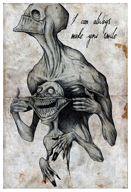 736x1075 Creepy Drawing Ideas Halloween ~ Halloween Random Tattoos Drawing