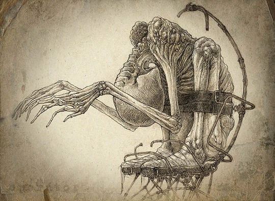 540x394 Creepy Drawings By Kirill Art Ideas Creepy