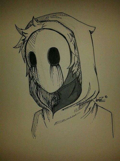500x667 Pictures Cool Scary Drawings,