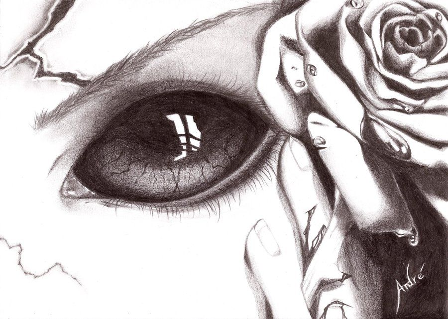 900x641 Scary Eyes By Mangadark Eyes Scary, Scary Drawings