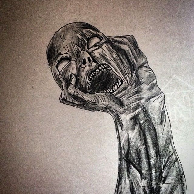 640x640 Horror Creepy Drawing Scary On Instagram Sixpin
