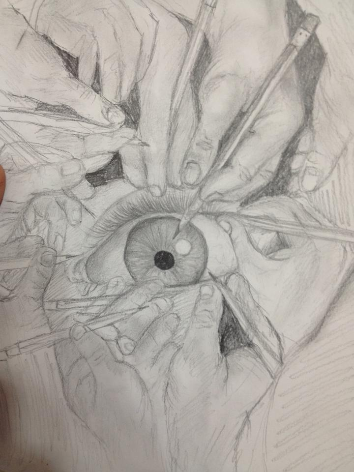 720x960 Scary Eye Drawing By Jessesmithxxoo