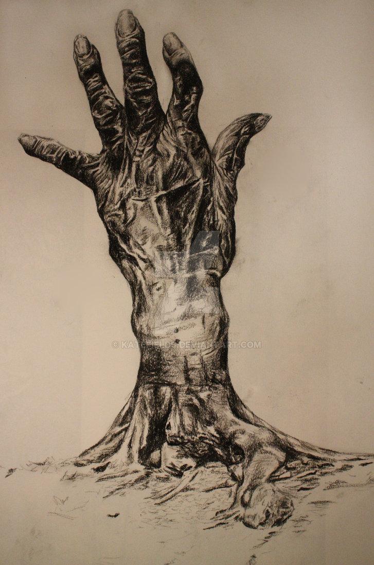 727x1098 Hand Tree By Katefields