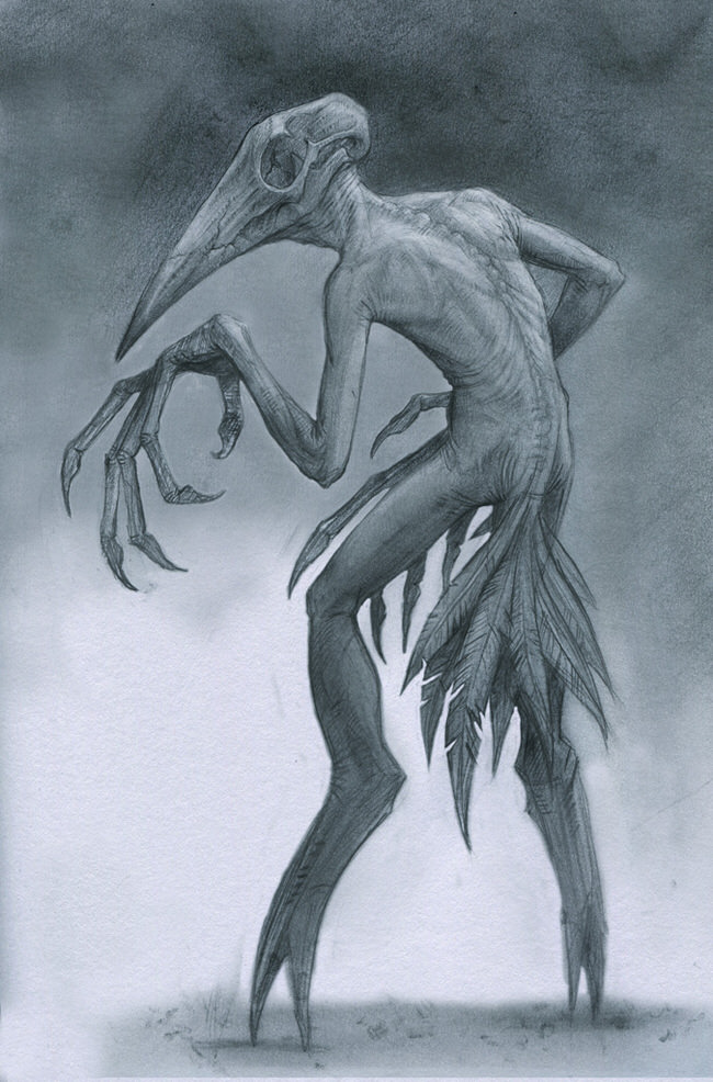 650x986se Drawings Of Monsters By Anastasios Gionis Will Give You