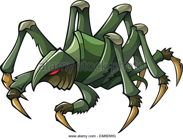 640x486 Spider Drawing Color Stock Photos Amp Spider Drawing Color Stock