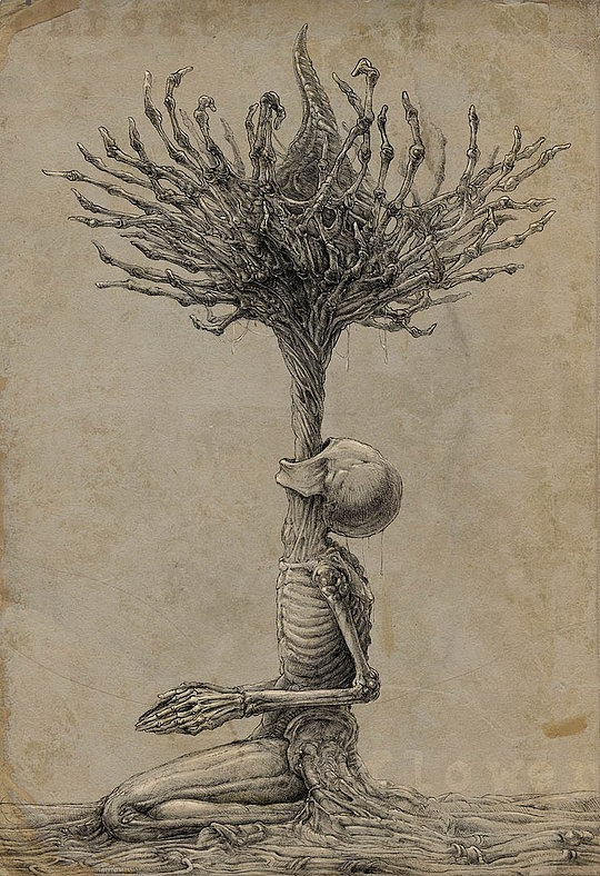 540x788 Creepy Drawings By Kirill Semenov. Reminds Me Of The Scary Pics