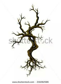 236x322 Creepy Tree Art Scary Tree Drawing Untitled