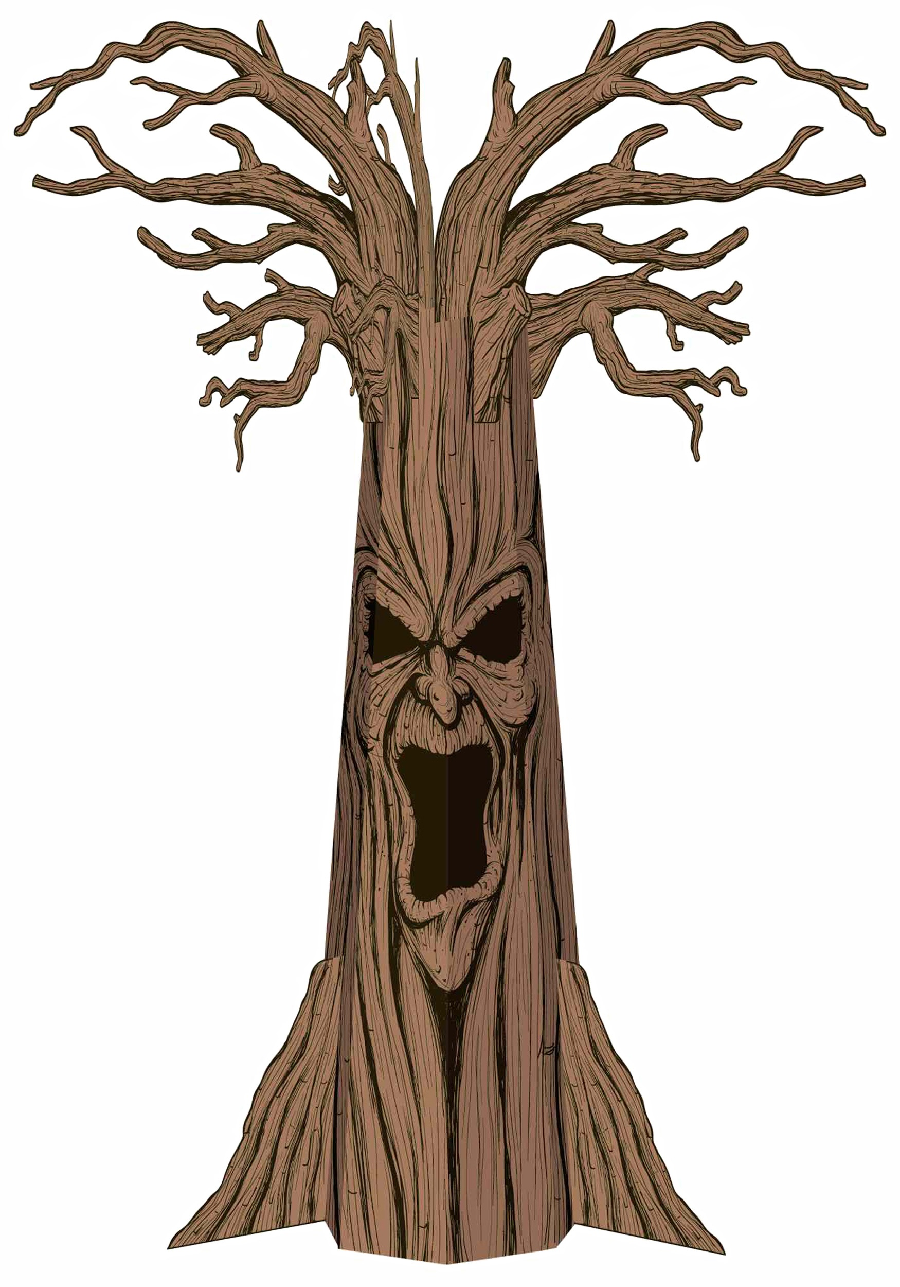 1750x2500 Scary Tree Decoration