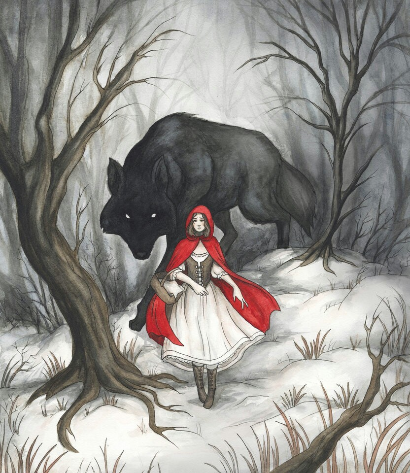 832x960 Big Bad Wolf Little Red Riding Hood Big Bad Wolf