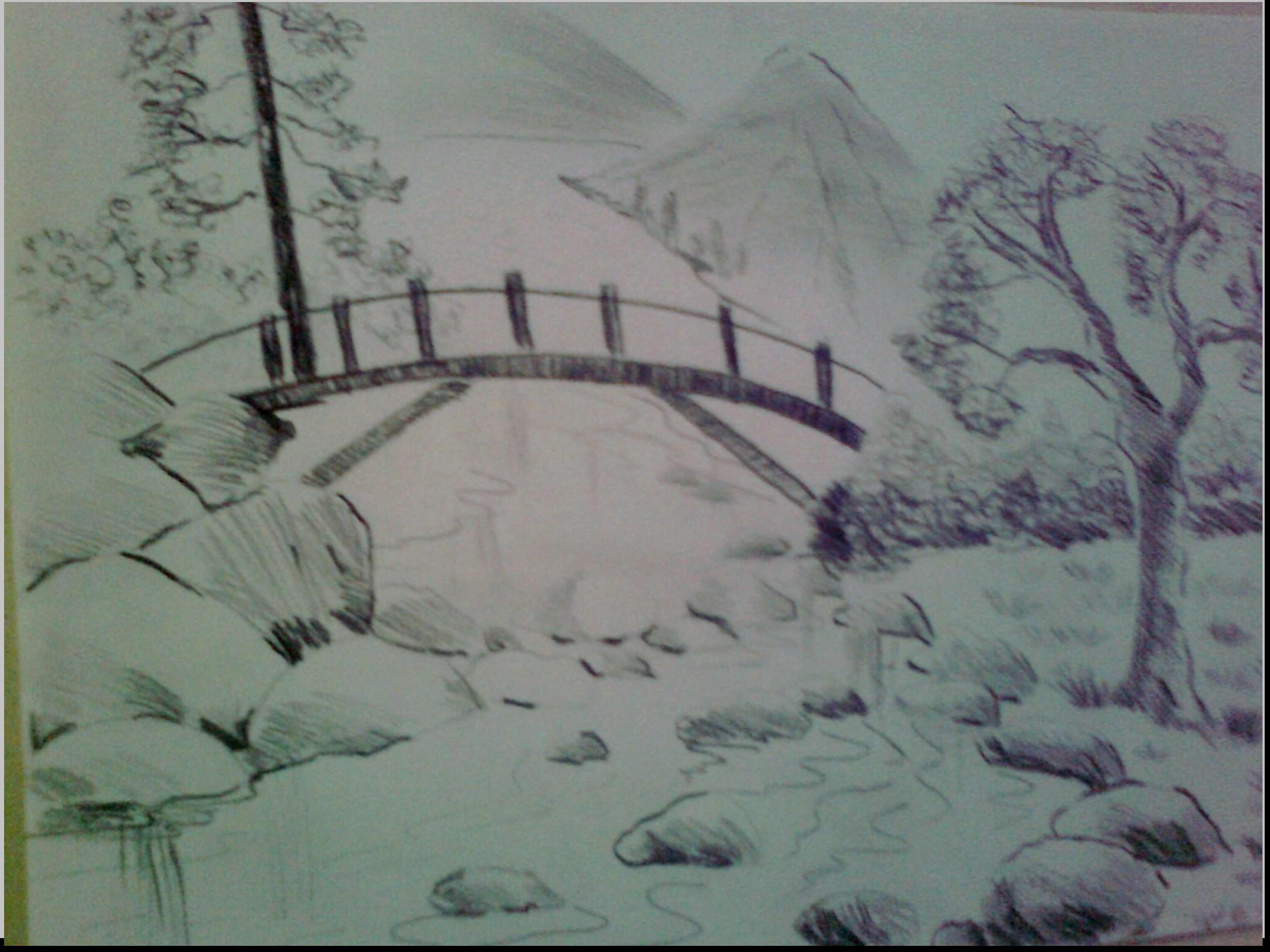 3100x2324 Nature Scene For Drawing Beautiful Nature Scene Drawing Nature
