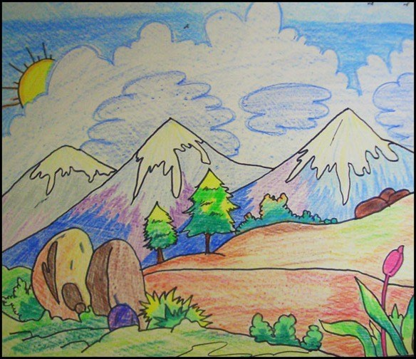 584x504 10 Best Drawings By Kids In Maxpro Summer Camp