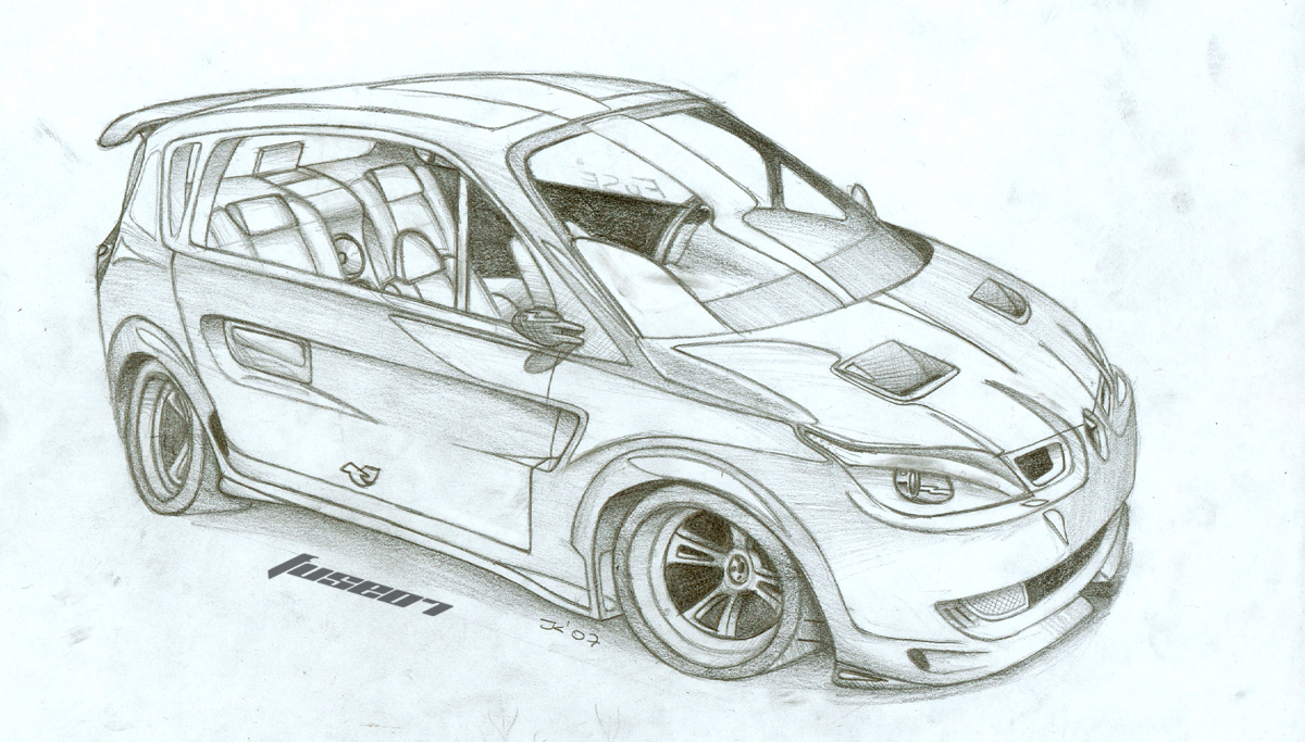 1200x683 Renault Scenic By Fuseest