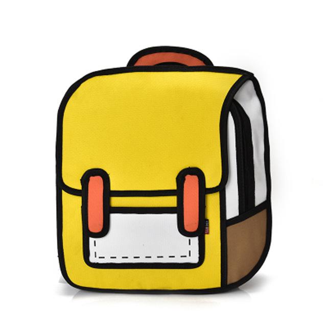 640x640 Lacattura New Fashion 2d Bags Novelty School Bag 3d Drawing