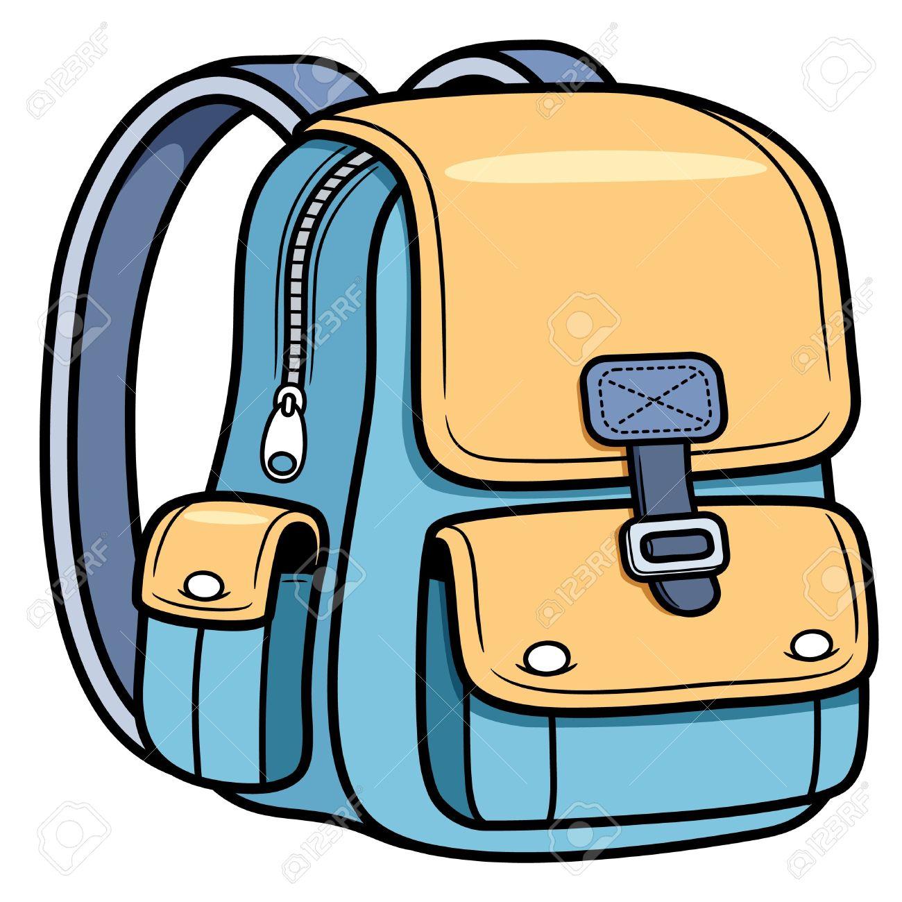 1300x1300 School Bag Cartoons