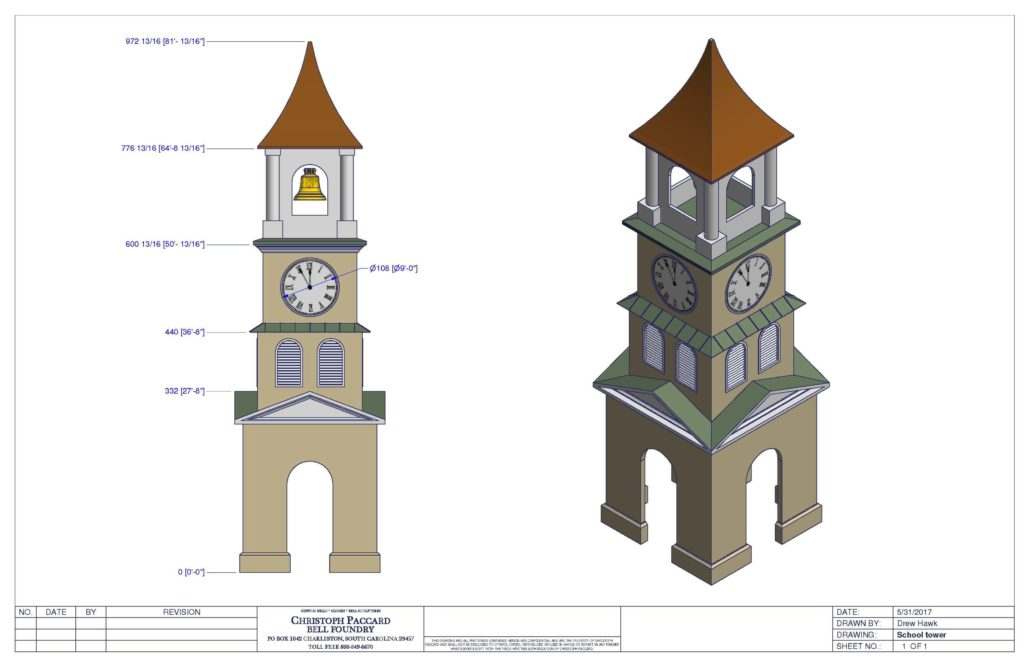 1030x666 Technical Drawing Photos Christoph Paccard Bell Foundry