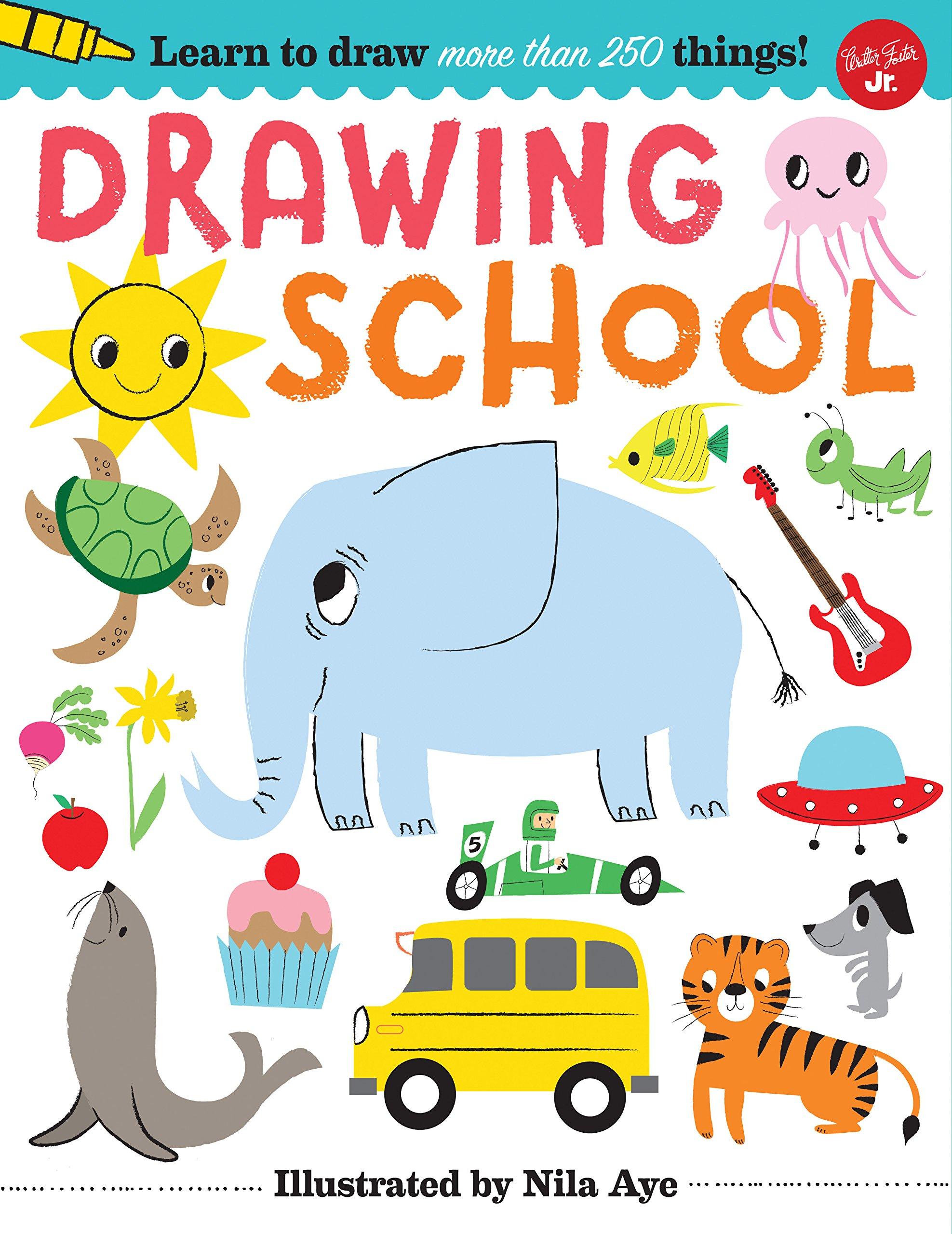 1975x2560 Drawing School Learn To Draw More Than 250 Things! Nila Aye