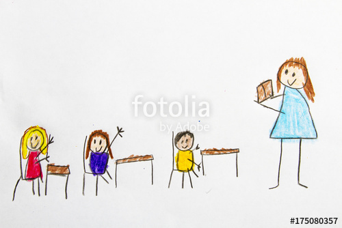 500x334 Kid Drawing School Classroom Stock Photo And Royalty Free Images