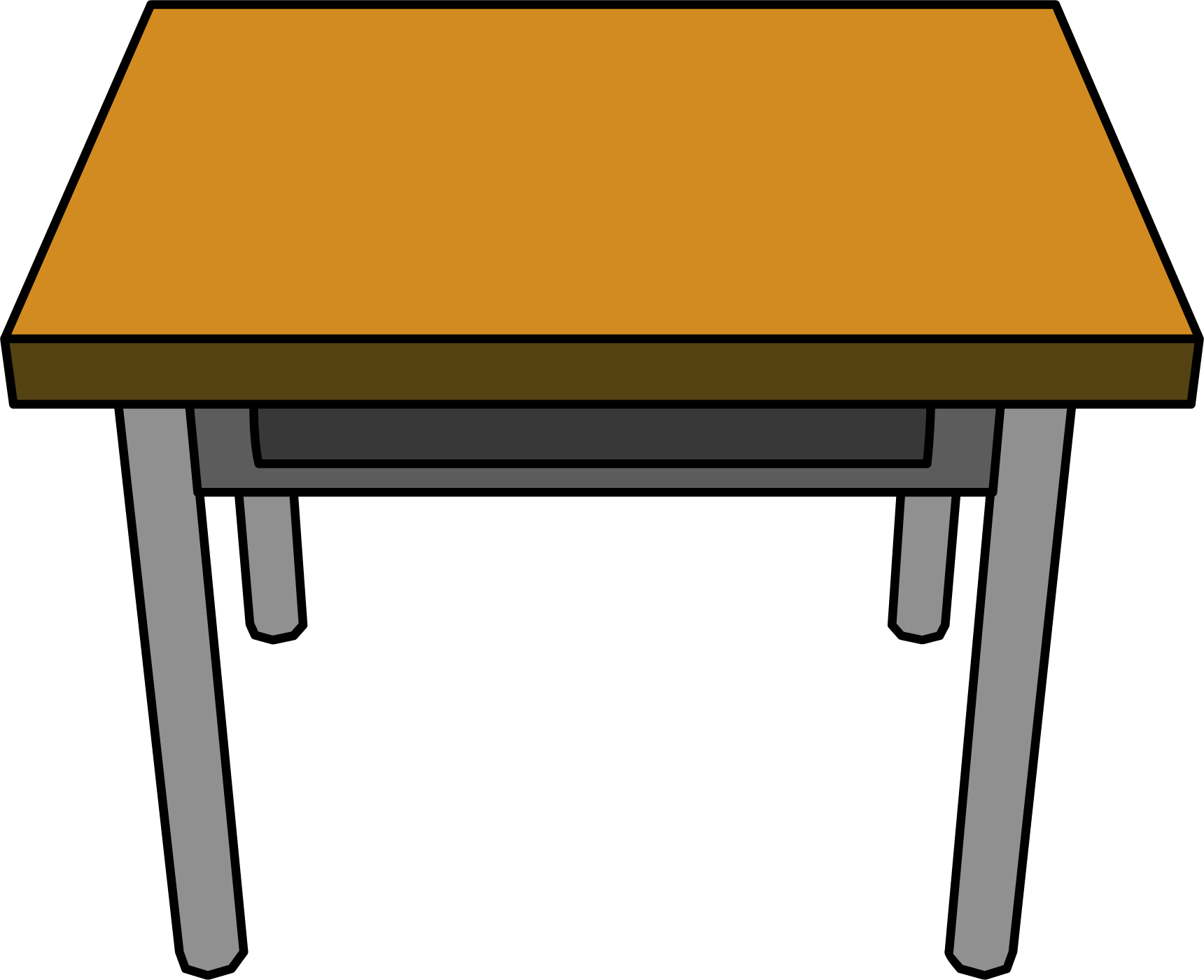 school table. 1720x1400 Desk Drawing Transparent PNG School Table
