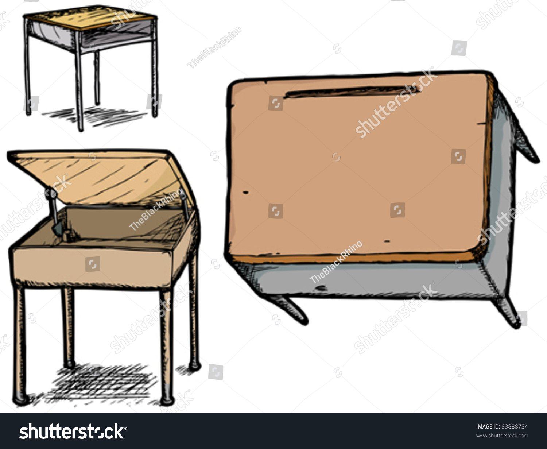 1500x1231 Desk Drawings