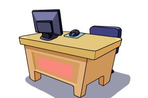 300x200 How To Draw A Desk