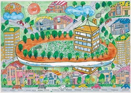 500x356 2012 World Habitat Day Children's Drawing Contest Proposals