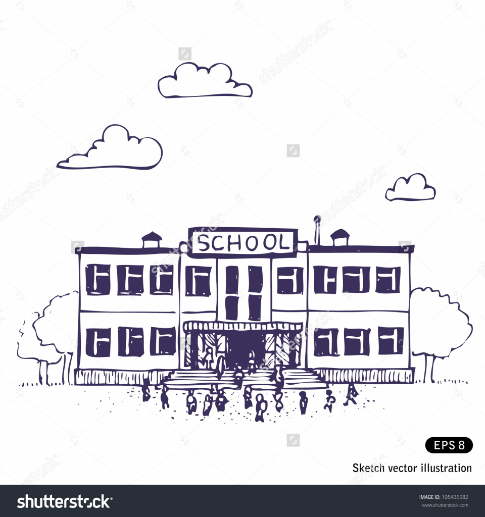 960x1024 Pictures School Simple Drawing Pic,