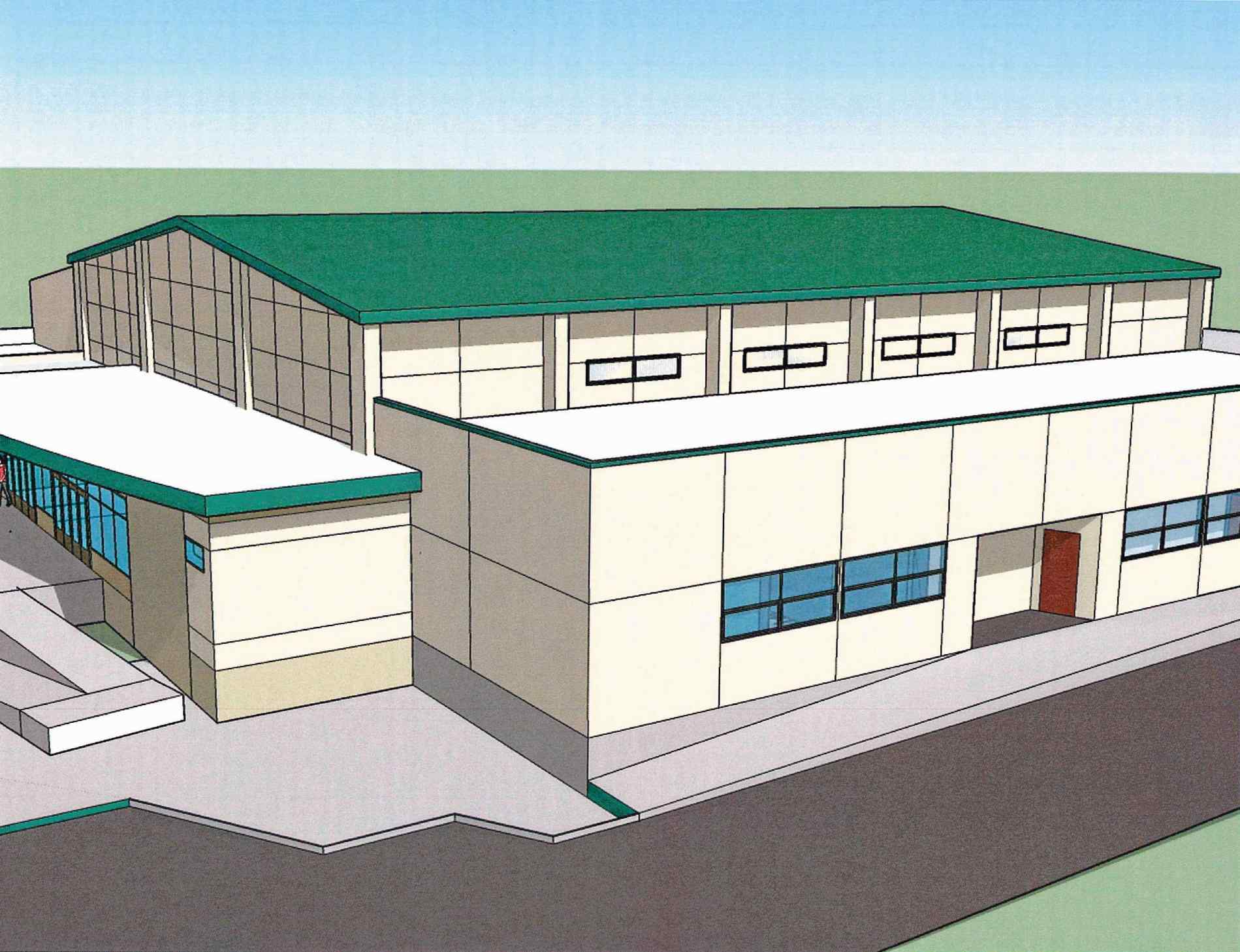 1899x1458 Design For South Fork Gym Improvements Chosen