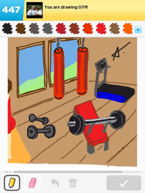 500x667 Gym Drawings