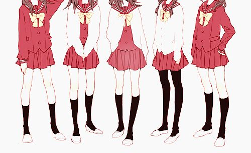 500x304 Japanese School Uniforms 2 Anime Japanese School