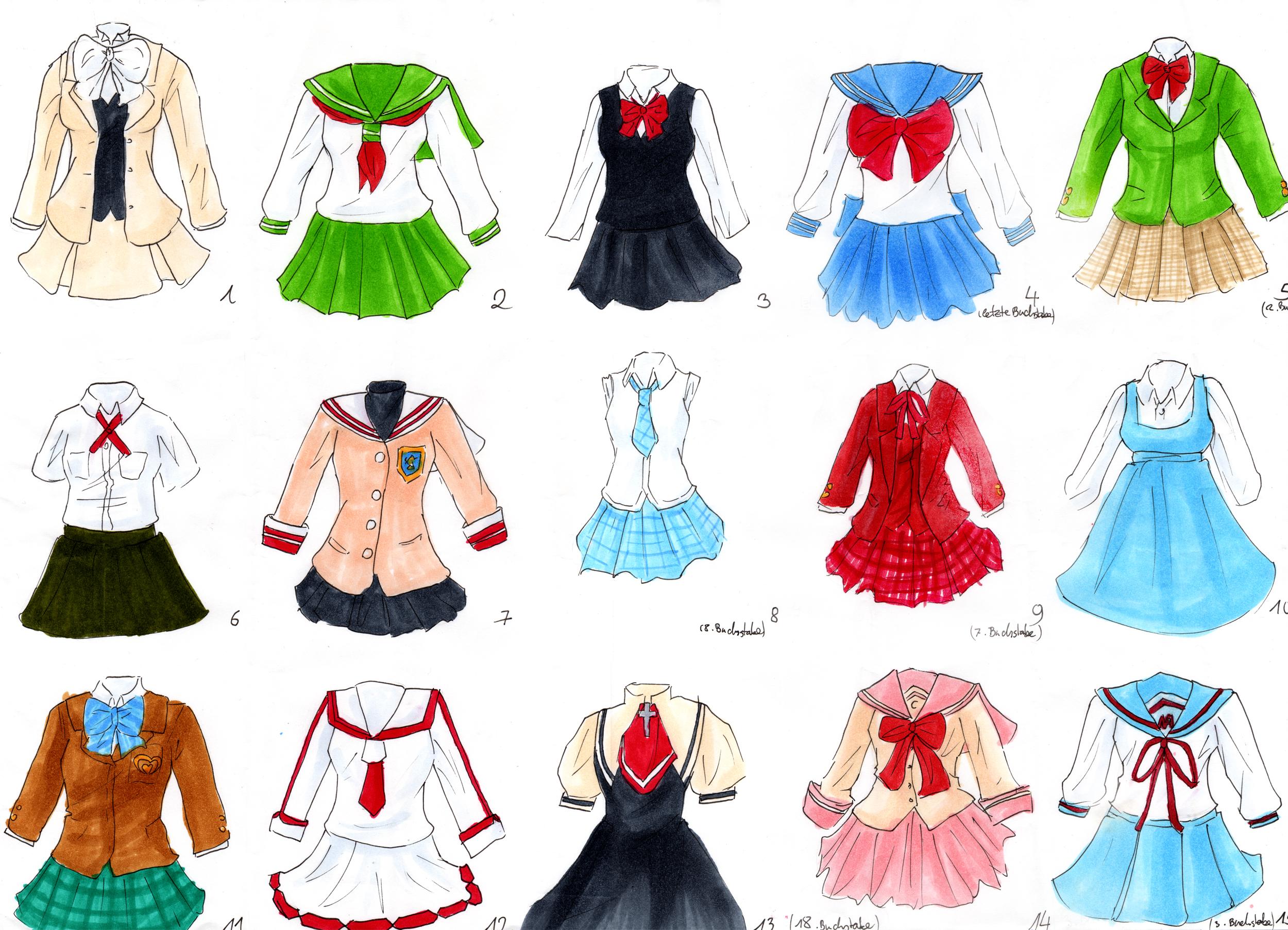 2500x1805 School Uniform Quiz By Littlesara