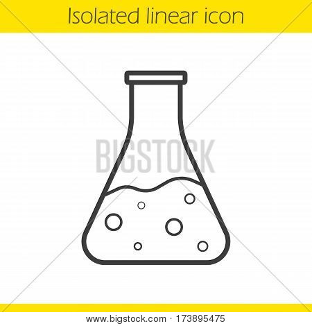 450x470 Chemical Reaction Linear Icon. Vector Amp Photo Bigstock