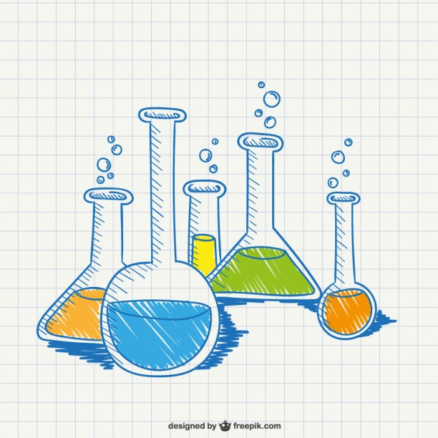626x626 Chemistry Conceptual Drawing Vector Free Download