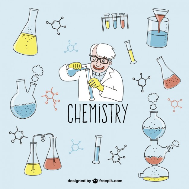 626x626 Desenhos Vector Chemistry, School And Science Doodles