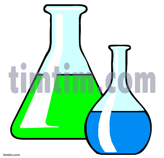 574x551 Free Drawing Of 2 Glass Beakers From The Category Science Amp Space