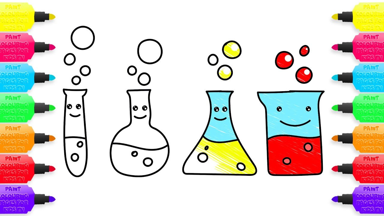 1280x720 Colours For Kids And Coloring Book Science Experiments How