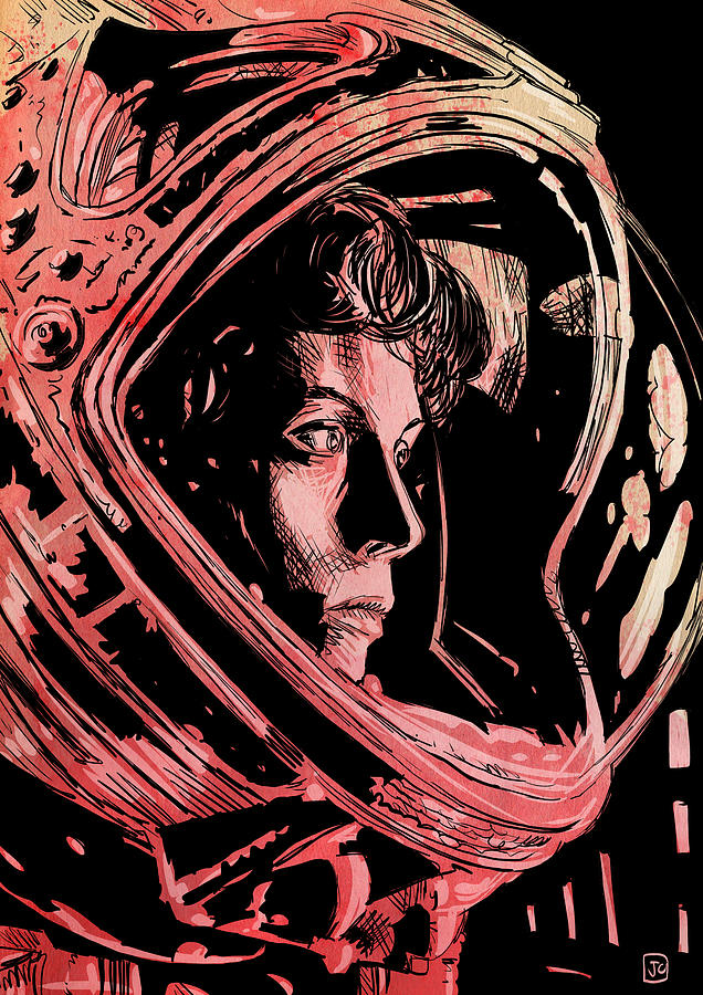 636x900 Science Fiction Drawings Fine Art America
