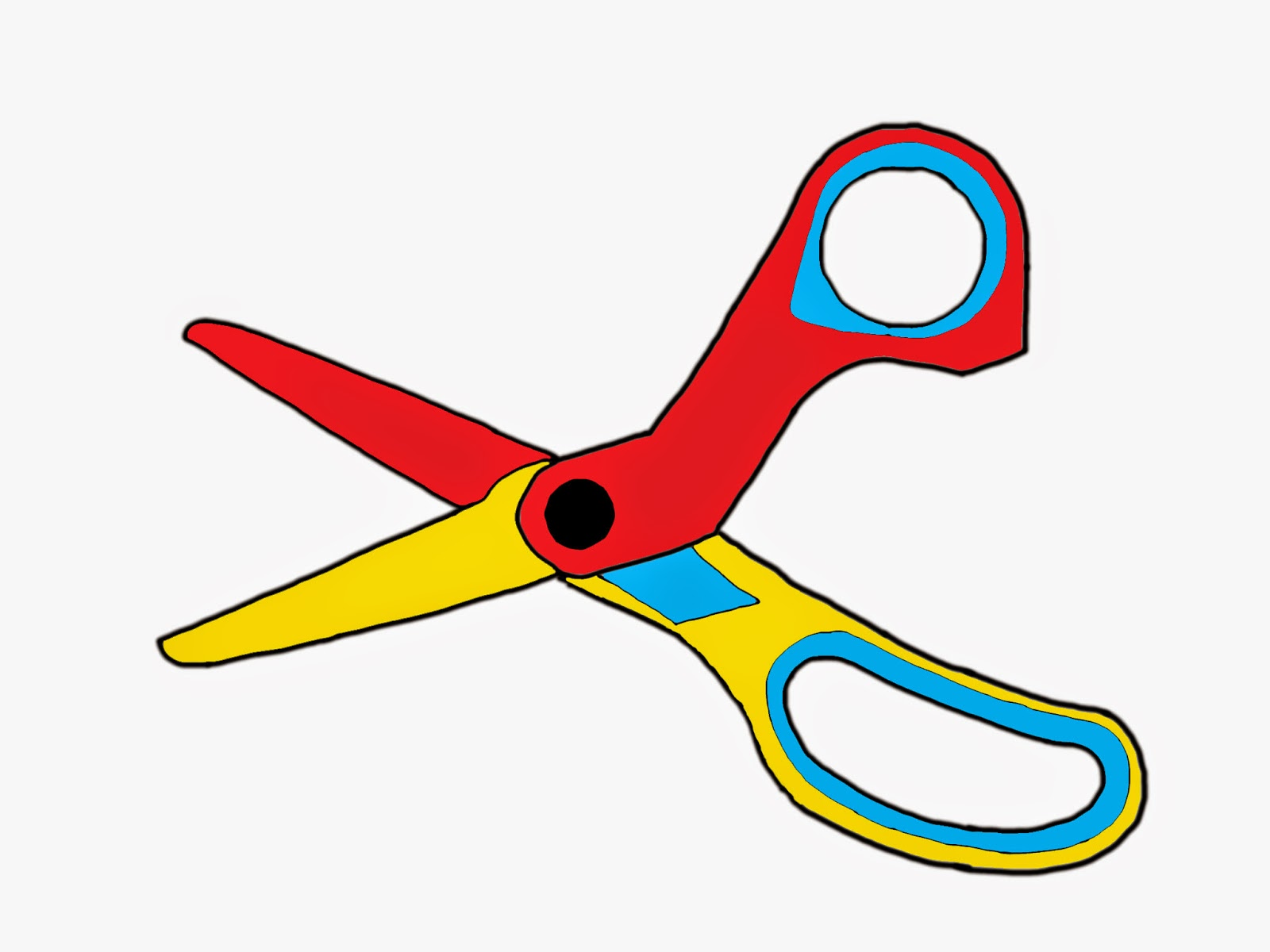 1600x1200 Sabbir's New Blog Scissors Drawing On Photoshop