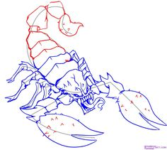 236x211 A Quick Line Drawing Of A Scorpion. (Yes, I Like Scorpions) My