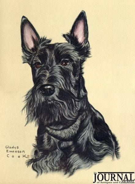 441x600 Drawing Of A Scottie Scottie Dogs Amp Scottie Stuff Dog