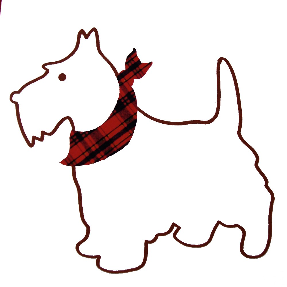 1000x1000 Scottish Terrier Clip Art