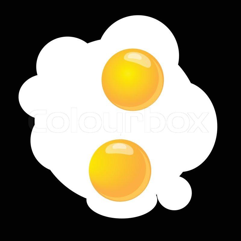 800x800 Scrambled Eggs Stock Vector Colourbox